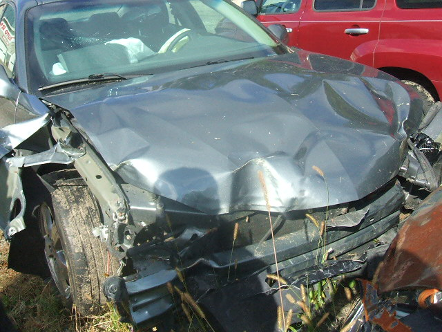 My car after the accident.