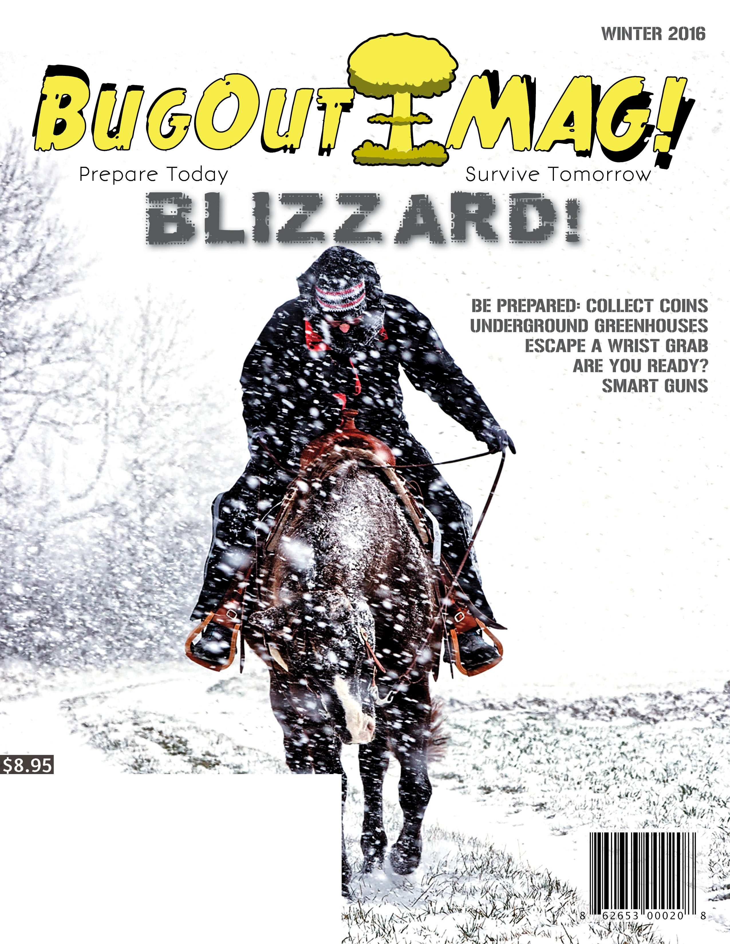 BugOut MAG! Winter 2016 issue